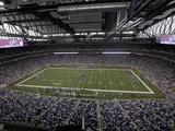 Detroit Lions--Ford Field: Detroit, MICHIGAN - Ford Field Photographic Print by Paul Sancya