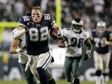 Cowboys Eagles Football: Philadelphia, PENNSYLVANIA - Jason Witten Prints by Mel Evans
