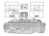 Non-Corporate Mentality - New Yorker Cartoon Premium Giclee Print by Jack Ziegler