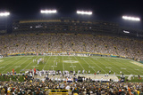 Bears Packers Football: Green Bay, WI - Lambeau Field Panorama Photographic Print by Jeffrey Phelps