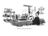 """There's no such thing as a free lunch."" - New Yorker Cartoon Premium Giclee Print by Dana Fradon"
