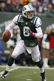Bills Jets Football: East Rutherford, NJ - Mark Sanchez Fotografisk trykk av Kathy Willens