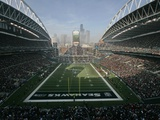 49ERS SEAHAWKS: SEATTLE, WA - CenturyLink Field Print by John Froschauer