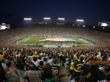 Bears Packers Football: Green Bay, WI - Lambeau Field Fotografisk trykk av Jeffrey Phelps