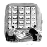 """""""Poor things!"""" - New Yorker Cartoon Premium Giclee Print by Stan Hunt"""