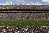 Ralph Wilson Stadium is seen during an NFL football: NY,  - Ralph Wilson Stadium Panorama Photographic Print