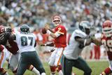 Chiefs Eagles Football: Philadelphia, PA - Matt Cassel Fotografisk trykk av Michael Perez