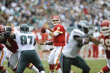 Chiefs Eagles Football: Philadelphia, PA - Matt Cassel Photographic Print by Michael Perez