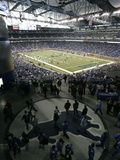 Detroit Lions--Ford Field: DETROIT, MICHIGAN - Ford Field Photographic Print by Carlos Osorio