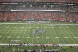 Dolphins Falcons Football: Atlanta, GA - Georgia Dome Panorama Photographie par John Amis