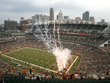 Rams Bengals Football: Cincinnati, OHIO - Paul Brown Stadium Photographic Print by David Kohl