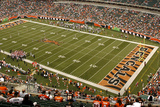 Rams Bengals Football: Cincinnati, OH - Paul Brown Stadium Panorama Fotografisk trykk av David Kohl