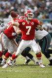 Chiefs Eagles Football: Philadelphia, PA - Matt Cassel Prints by Mel Evans