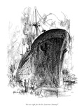 """""""Are we right for the St. Lawrence Seaway?"""" - New Yorker Cartoon Premium Giclee Print by Alan Dunn"""