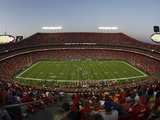Seahawks Chiefs Football: Kansas City, MO - Arrowhead Stadium Photographic Print by Charlie Riedel