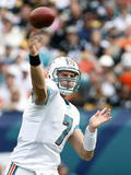 Steelers Dolphins Football: Miami, FL - Chad Henne Plakater av J Pat Carter