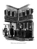 """Where do you stash the porno, Cookie?"" - New Yorker Cartoon Premium Giclee Print by Warren Miller"