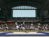Eagles Colts Football: Cleveland, OHIO - Peyton Manning Photographic Print by Thomas Witte