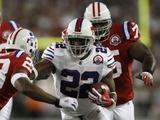Bills Patriots Football: Foxborough, MA - Fred Jackson Fotografisk trykk av Winslow Townson
