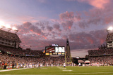 Bills Patriots Football: Foxborough, MA - Gillette Stadium Panorama Photographic Print by Steven Senne