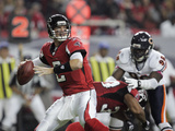 Bears Falcons Football: Atlanta, GA - Matt Ryan Photographie par John Amis