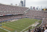 NYC Terror Warning: Chicago, IL - Soldier Field Panorama Photographic Print by Kiichiro Sato