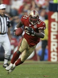 PLAYER OF THE WEEK GORE 49ERS FOOTBALL: SAN FRANCISCO, CALIFORNIA - Frank Gore Prints by Jeff Chiu