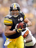 Browns Steelers Football: Pittsburgh, PA - Hines Ward Photo by Don Wright