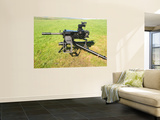 An MK19 40MM Machine Gun Wall Mural by Stocktrek Images
