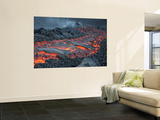 Lava Flow on the Flank of Pacaya Volcano, Guatemala Wall Mural by  Stocktrek Images