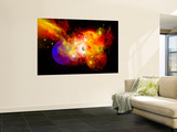 A Dying Star Turns Nova as it Blows Itself Apart Wall Mural by  Stocktrek Images
