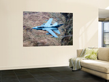 A Royal Air Force Tornado GR4 During Low Fly Training in North Wales Wall Mural by  Stocktrek Images