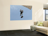 A Member of the Pathfinder Platoon Prepares to Land from a Parachute Jump Wall Mural by  Stocktrek Images