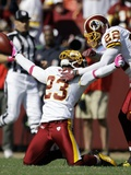 Buccaneers Redskins Football: Landover, MD - DeAngelo Hall Photo av Haraz N. Ghanbari