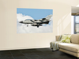 An Italian Air Force Panavia Tornado Ecr Returns from a Mission over Libya Wall Mural by  Stocktrek Images