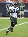 Jaguars Texans Football: Houston, TX - Maurice Jones-Drew Photographic Print by Dave Einsel