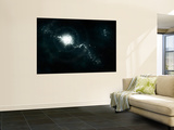 A Recently Discovered Nebula with Visible Habitable Planets Wall Mural by  Stocktrek Images