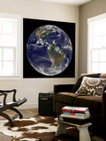 Full Earth Showing North America and South America Wall Mural by  Stocktrek Images
