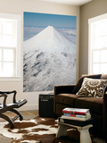 Aerial View of Glaciated Shishaldin Volcano, Unimak Island, Alaska Wall Mural by  Stocktrek Images