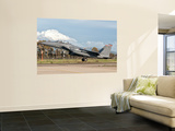 An F-15E Strike Eagle Deploys from Decimomannu Air Base, Italy Wall Mural by  Stocktrek Images