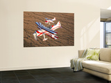 Two Pitts Model 12 Aircraft in Flight Wall Mural by  Stocktrek Images