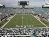Jacksonville Jaguars--Jacksonville Municipal Stadium: Jacksonville, FLORIDA - Jacksonville Municipa Fotografisk trykk av Steve Cannon
