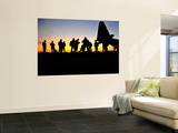 Green Berets Prepare to Board a Kc-130 Aircraft Wall Mural by Stocktrek Images 
