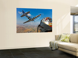 Airborne with the Horsemen Aerobatic Flight Team Wall Mural by  Stocktrek Images