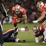 Bears 49ers Football: San Francisco, CA - Frank Gore Plakat av Paul Sakuma