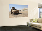 An Oshkosh M-Atv Sits Parked at Camp Leatherneck, Afghanistan Wall Mural by  Stocktrek Images