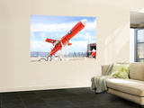 A Bqm-74E Chukar Drone Ready for Launch Wall Mural by  Stocktrek Images