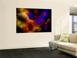 The Universe and its Wondrous Colors and Variety of Stars and Planets Wall Mural by  Stocktrek Images