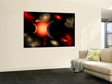Artist&#39;s Concept of the Cosmic Wonders of the Universe Wall Mural by Stocktrek Images 