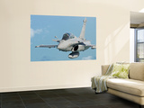 A Rafale B of the French Air Force in Flight over Brazil Wall Mural by  Stocktrek Images